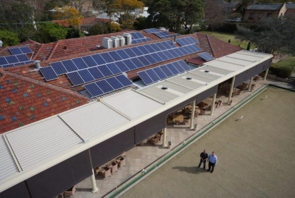 COMMERCIAL SOLAR INSTALLATION HUNTERS HILL1